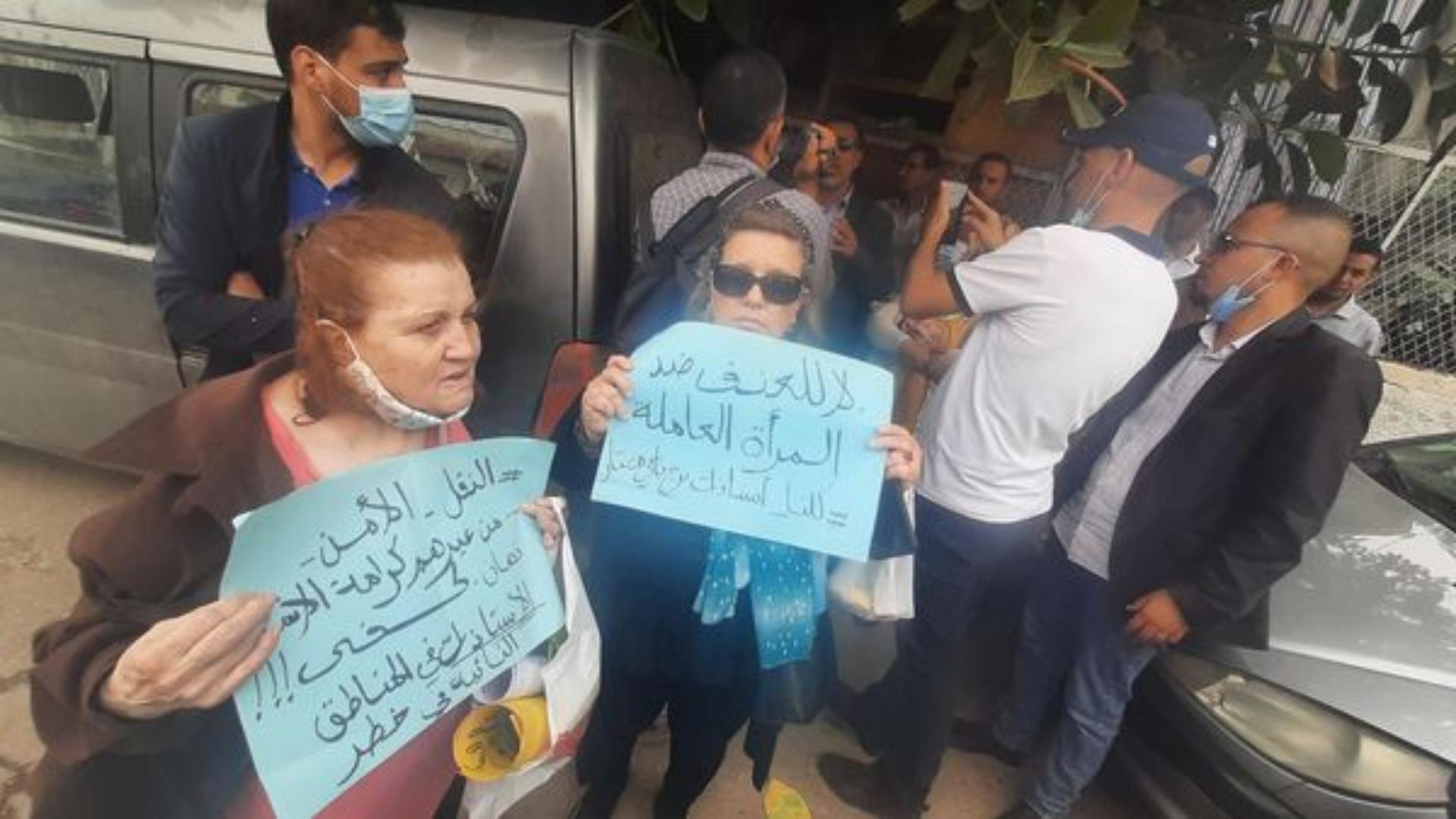 Alger:un rassemblement en soutien aux institutrices agressées à Bordj Badji Mokhtar empêché par la police
